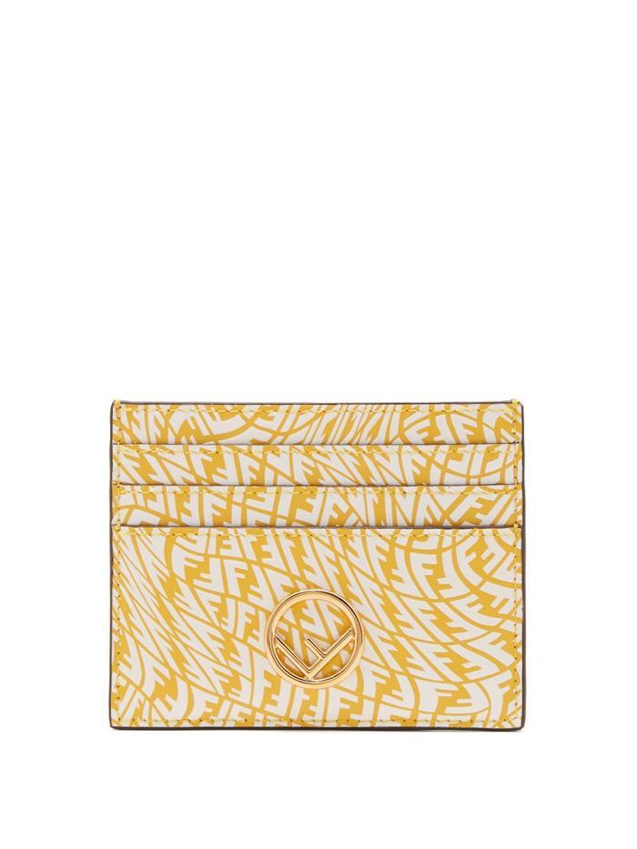 Fendi FF Vertigo Leather Cardholder