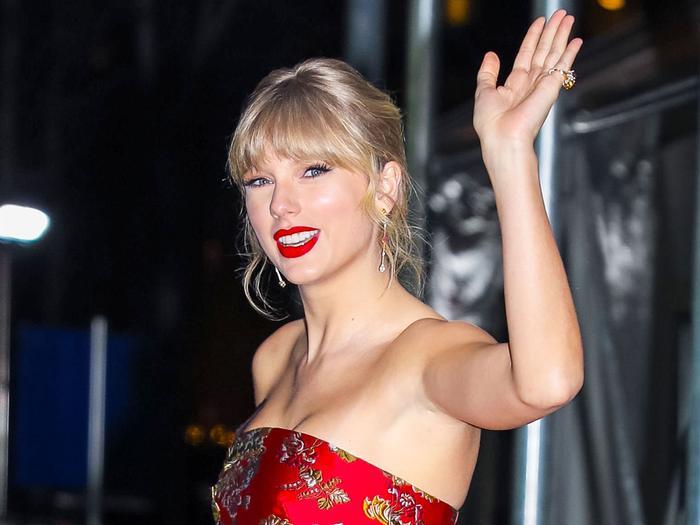 Taylor Swift's TikTok dress from Reformation