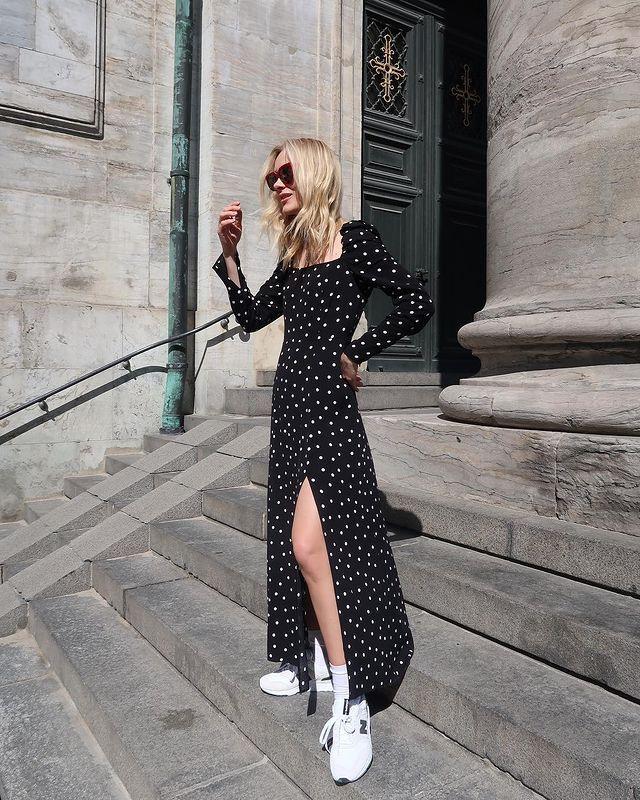 Polka Dot Outfits: @mariehindkaer