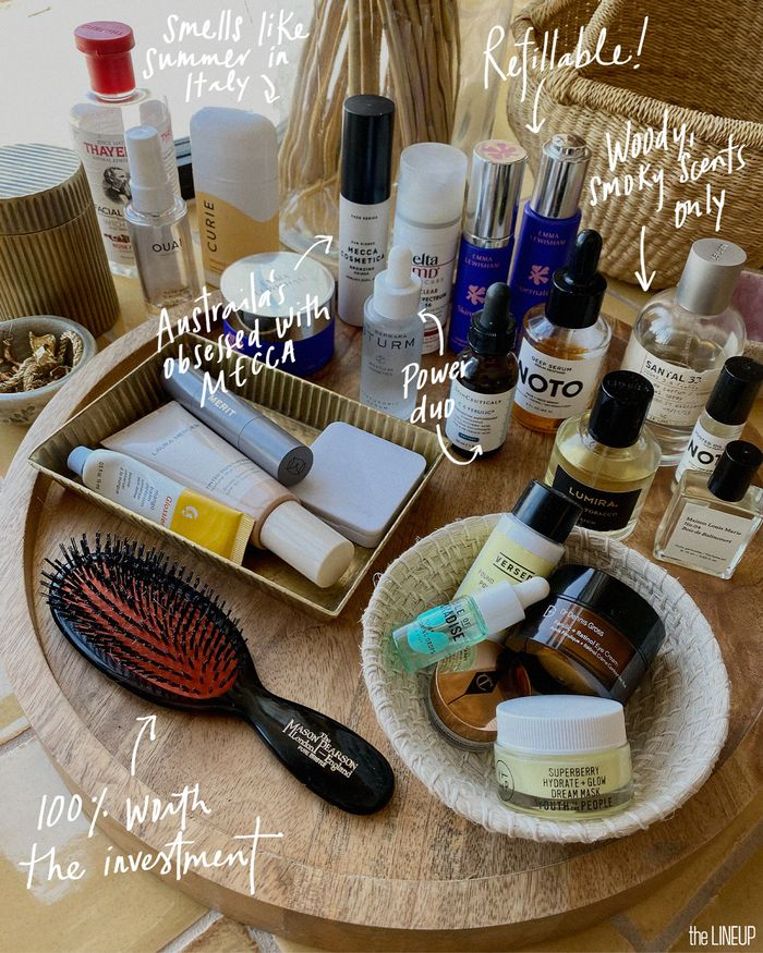 Natalie Cantell's go-to beauty products