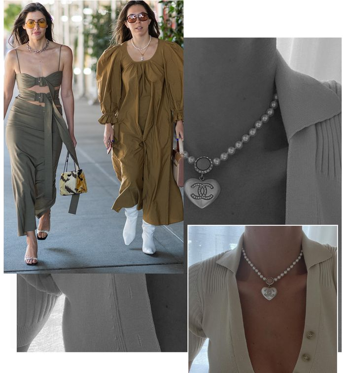 autumn jewellery trends: short and tennis necklaces
