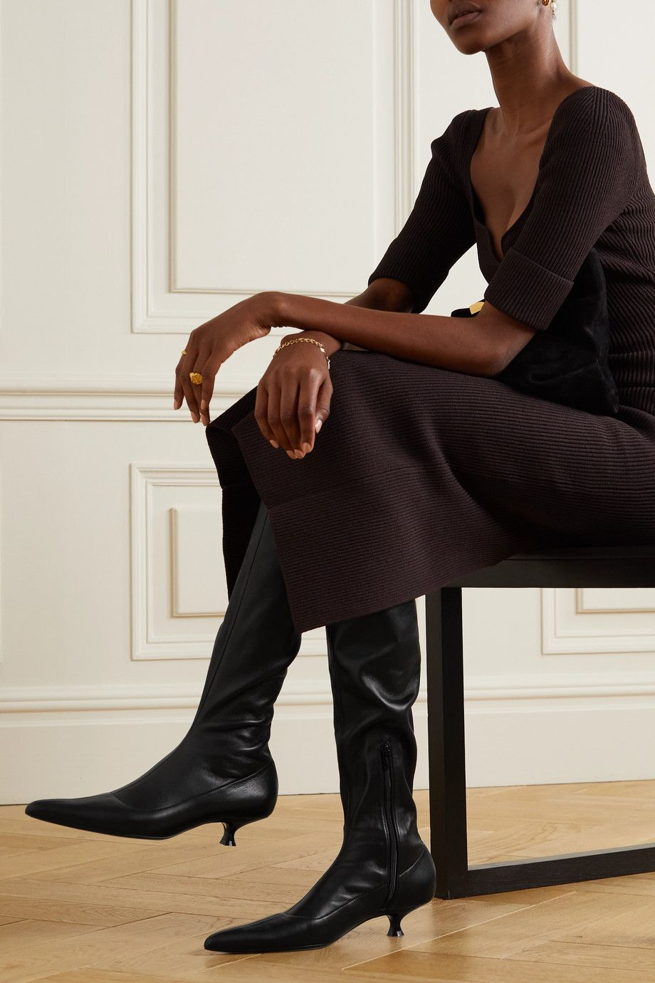 Prediction: This Comfy Boot Trend Is About to Be Very Major - kitten heel boots 295021 1630278886088