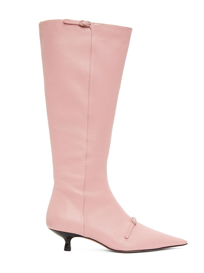 Prediction: This Comfy Boot Trend Is About to Be Very Major - kitten heel boots 295021 1630279134288