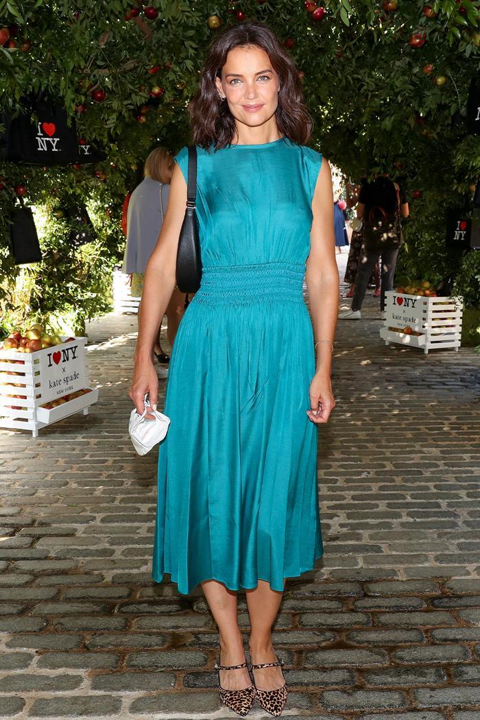 NYFW celebrity autumn outfits: Katie Holmes