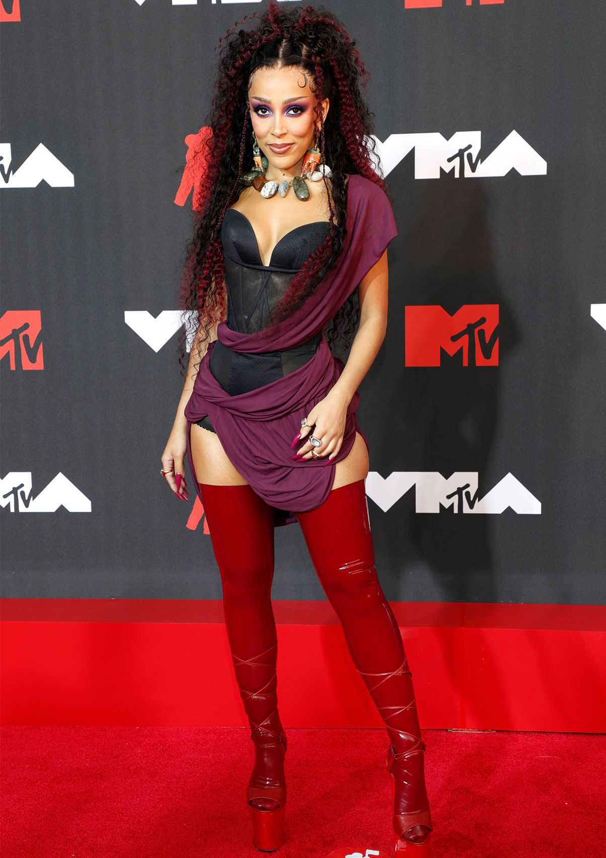 The MTV VMAs Red Carpet Looks That Shocked and Amazed Us - mtv vma red carpet 2021 295172 1631487102601