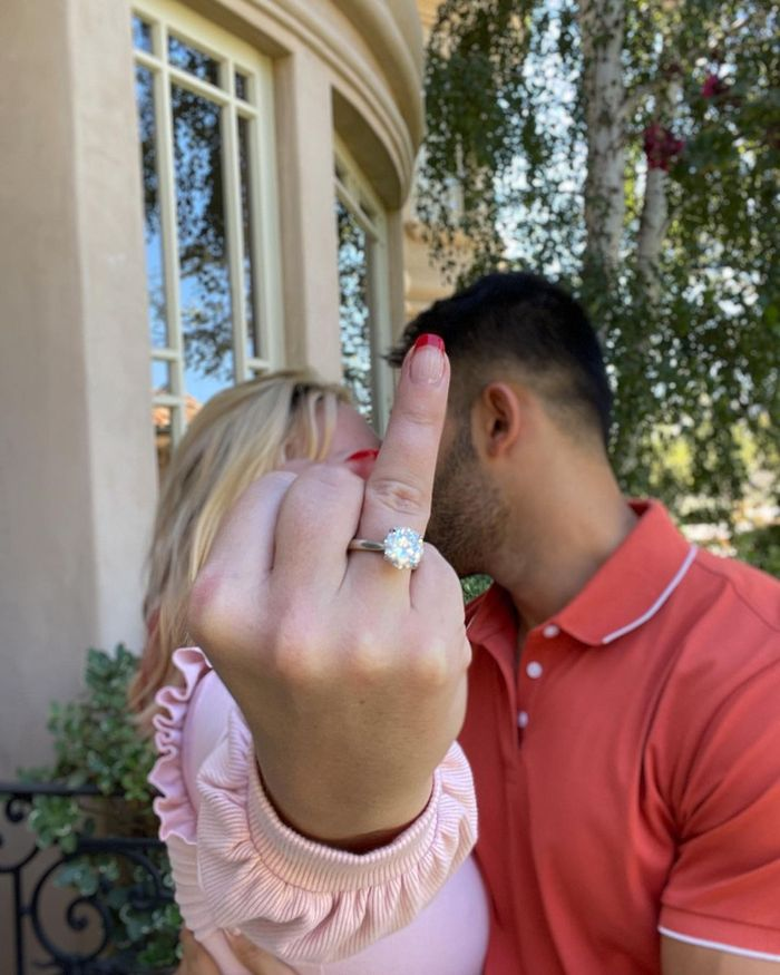 Britney Spears and Sam Asghari are Finally Engaged