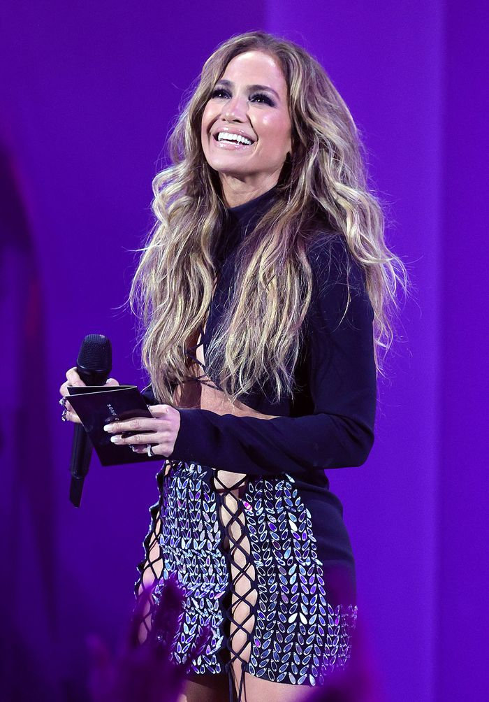 Jennifer Lopez Wore a Revealing David Koma Look at the VMAs