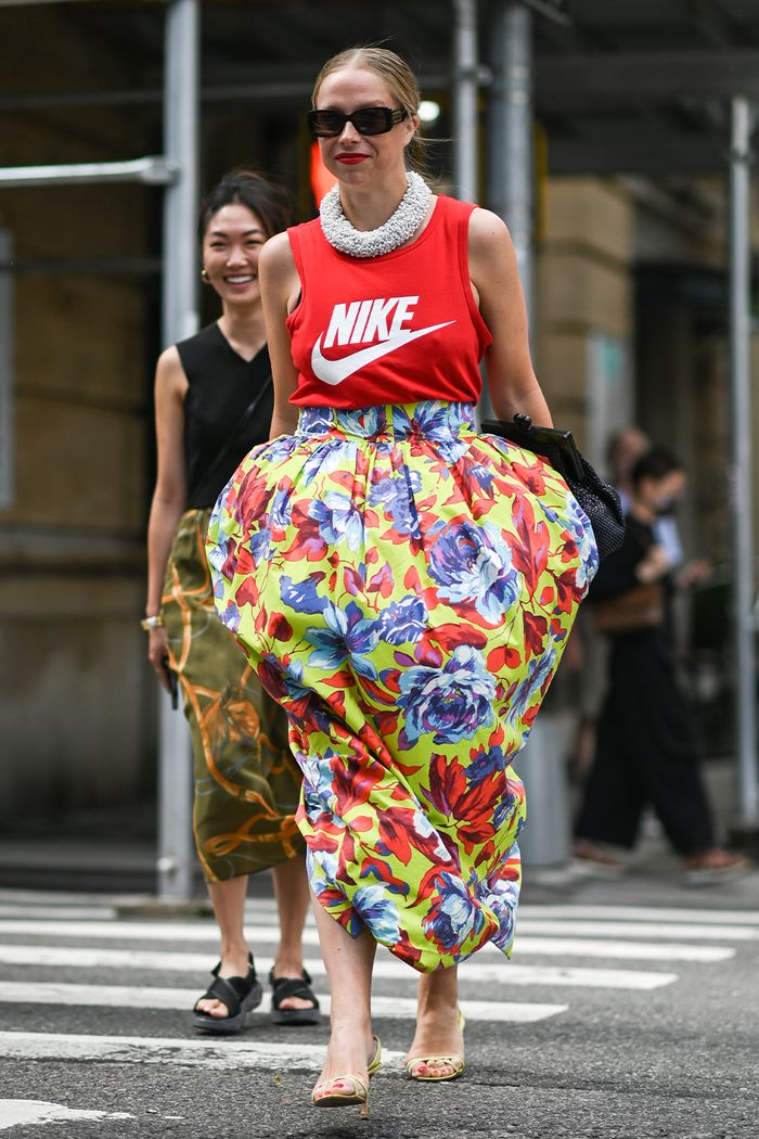 new york fashion week street style trends september 2021