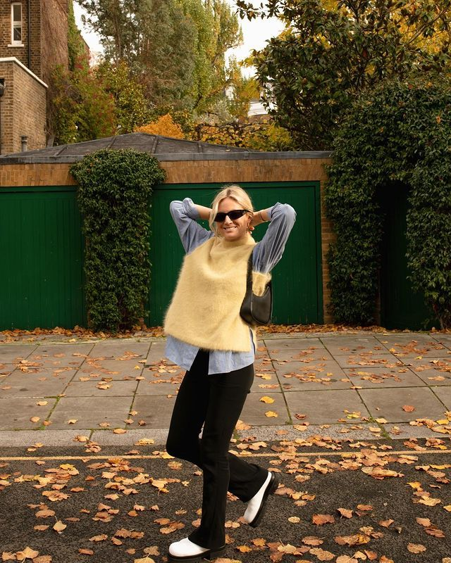Knitted Vest Trend: @lucywilliams02