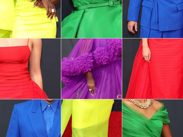 Emmys Red Carpet Outfits Color Trend 2021
