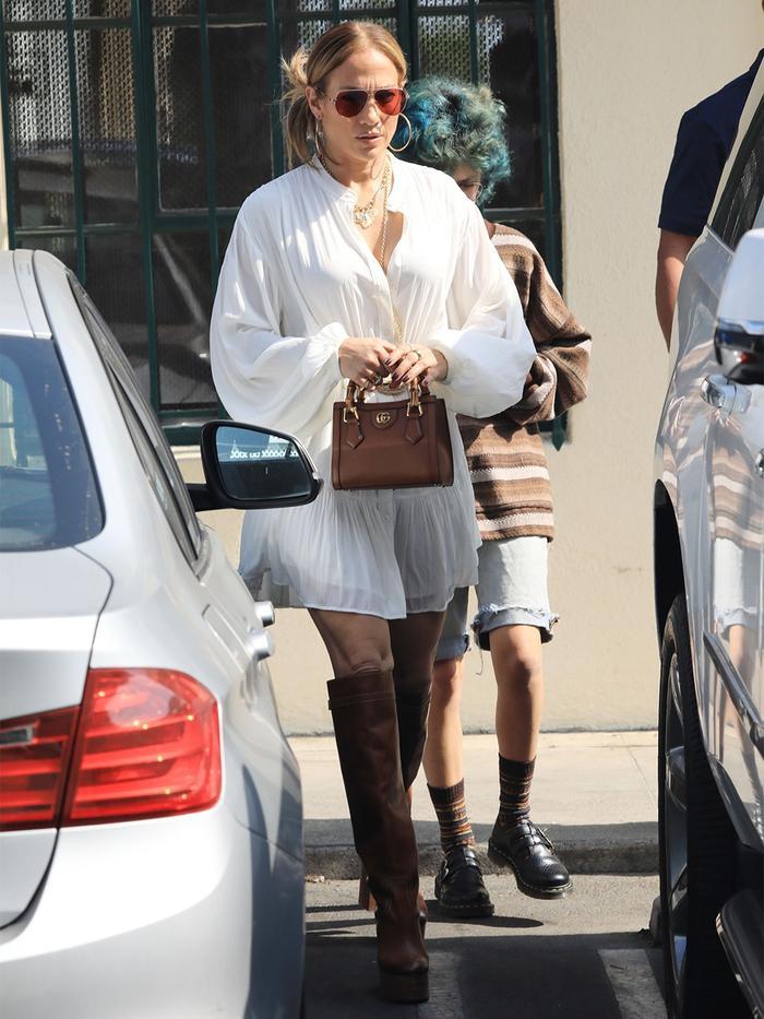 Jennifer Lopez Gucci Diana Bag