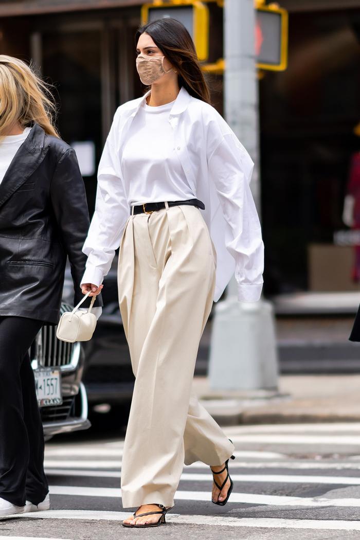 Trendy basics from a stylist: white dress shirt