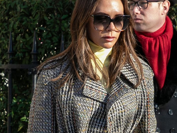 Victoria Beckham Just Wore the Coolest Jeans Outfit
