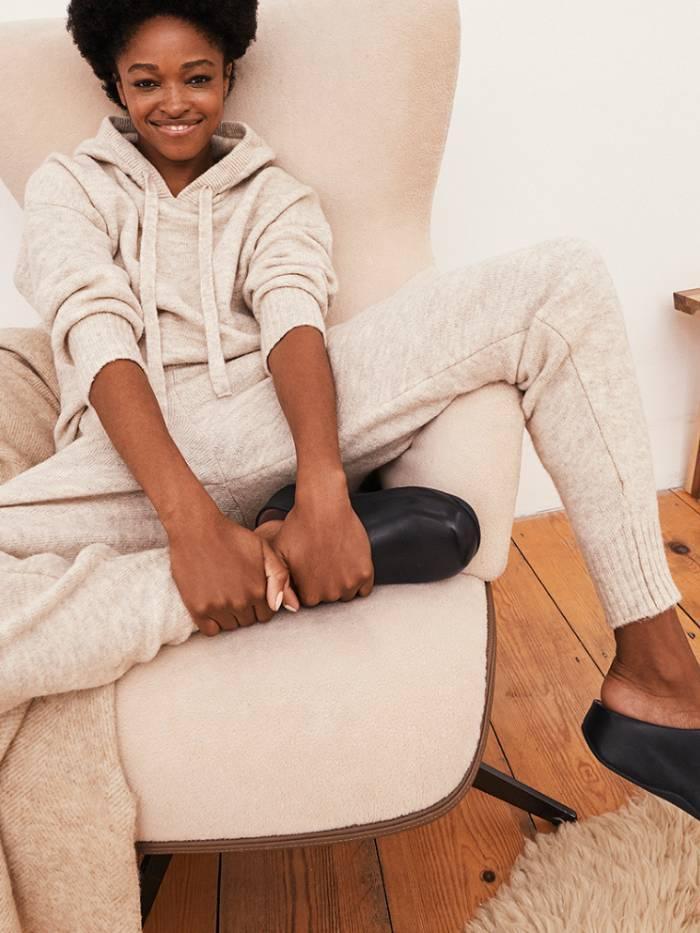 Model wears FitFlop Clogs