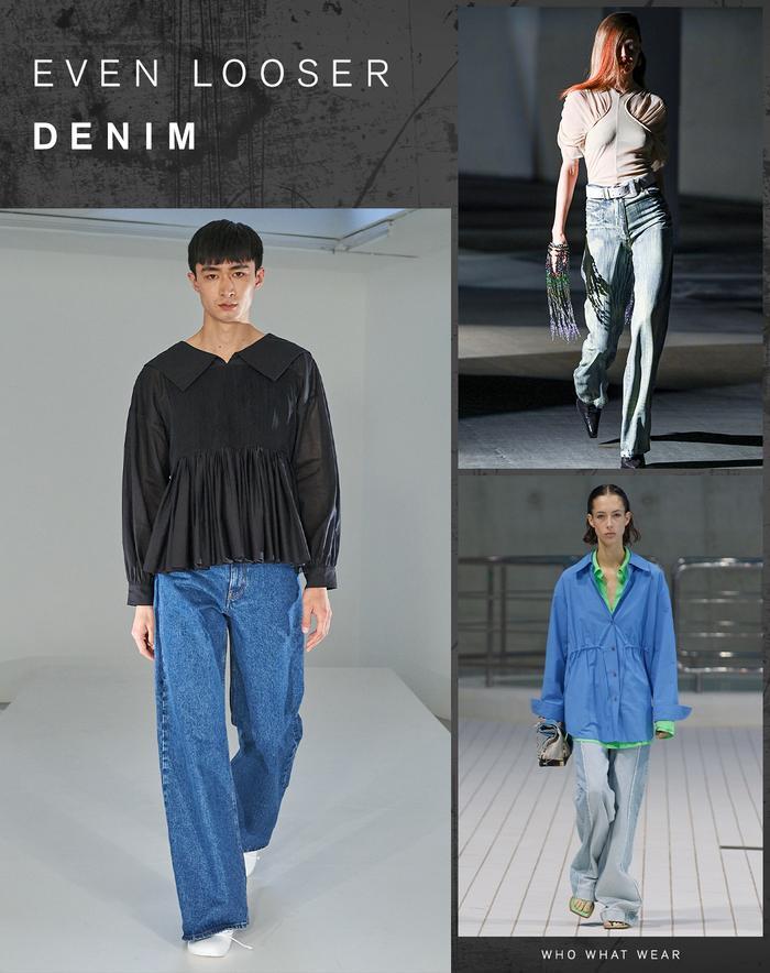 Denim Trend London Fashion Week 2021