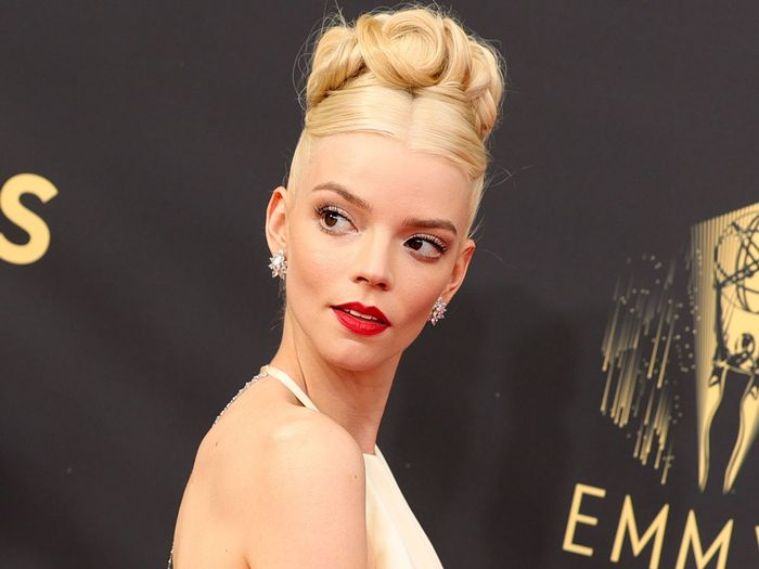 Anya Taylor-Joy Wore Lingerie—and Only Lingerie—to an Emmys After-Party