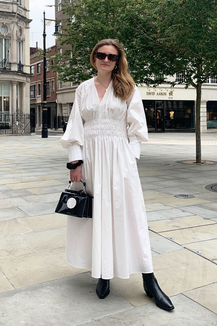 Editor outfits London Fashion Week September 2021