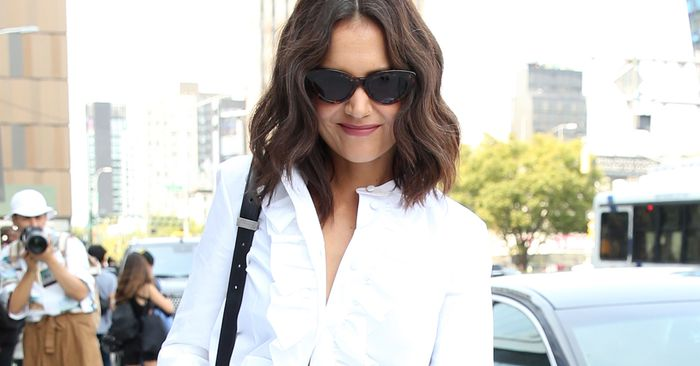 Katie Holmes and Alexa Are Styling Their Jeans In the Exact Same Way
