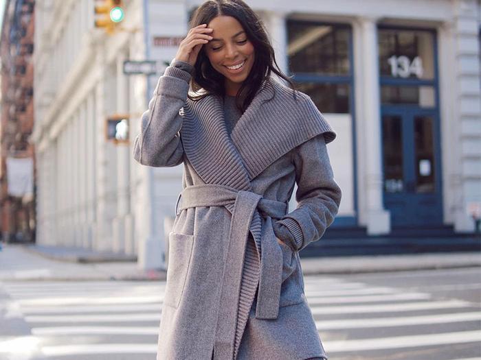 The best wrap coats for women
