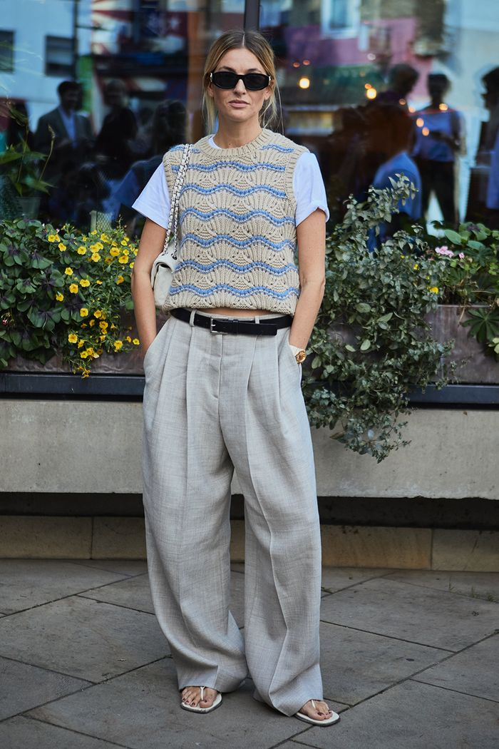 Best slouchy tailored trousers