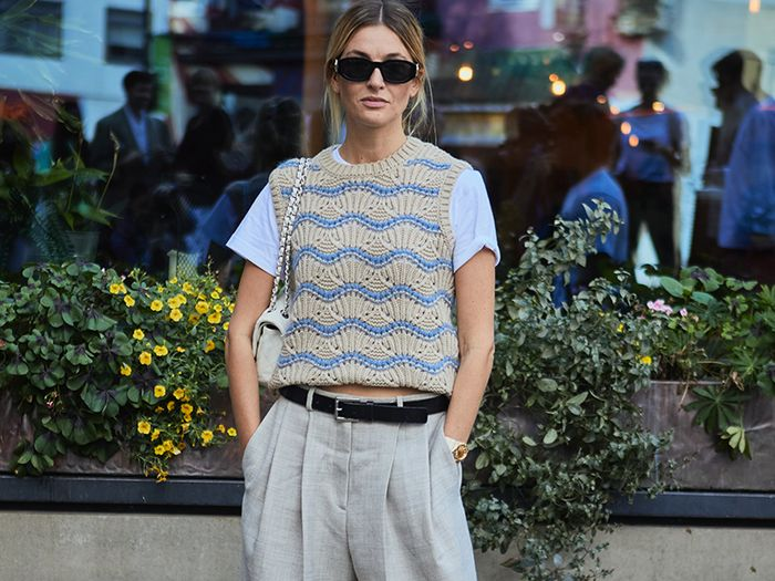 The Simple Trouser Trend That We Saw Everywhere at London Fashion Week