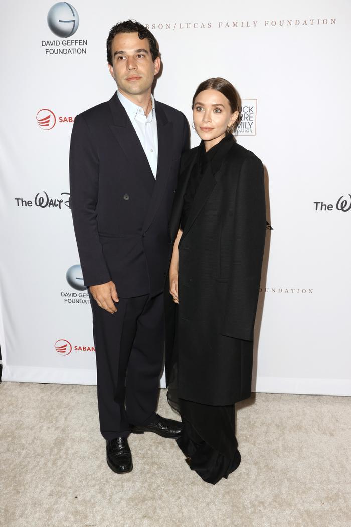 ashley olsen with her boyfriend Louis Eisner