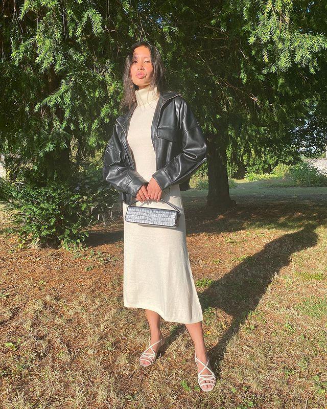Mango, Marks & Spencer and Zara Autumn Edit: @vikilefevre wears an outfit from Mango