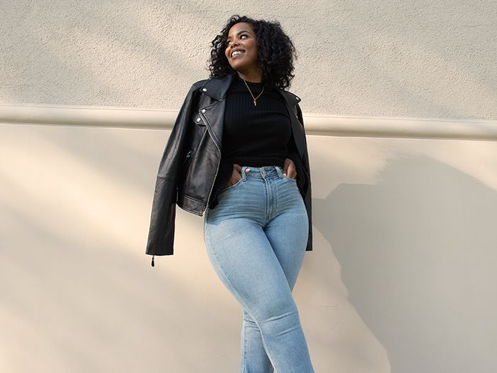 Calling All Women With Hourglass Figures—This Stylish Denim Line Is For You