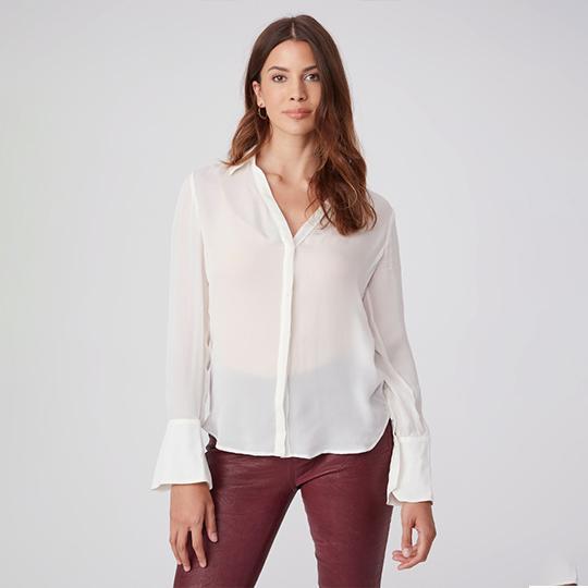 PAIGE Toscani Silk Blouse