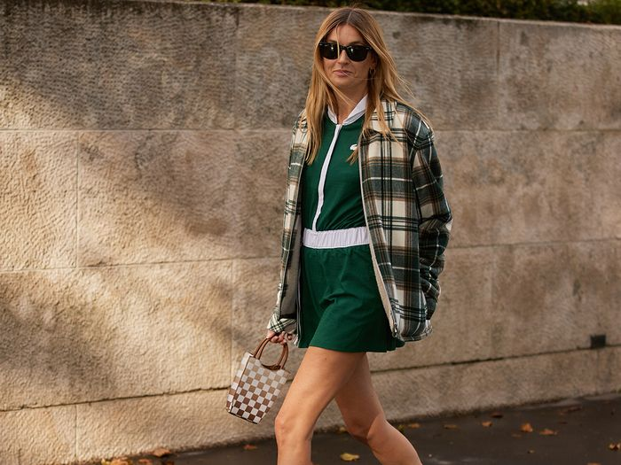 I Spotted This Controversial Skirt Trend All Over Paris Fashion Week