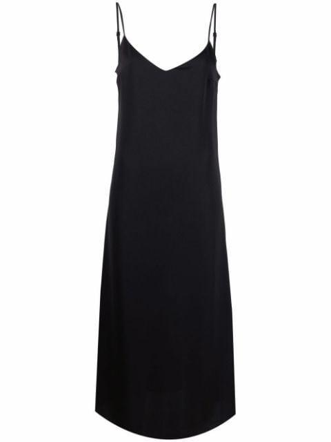12 Storeez Satin Weave Slip Dress