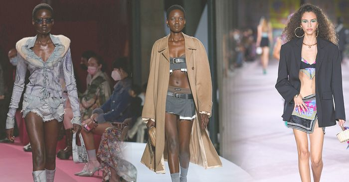 The Great Shrinkage: The Barely There Trends That Dominated Fashion Month