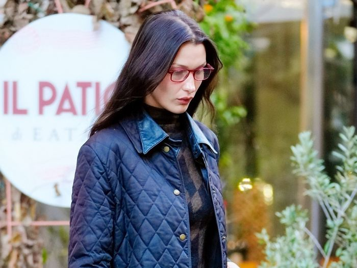Bella Hadid Just Wore the Cloud-Coat Trend, so You Know She's a Smart Dresser