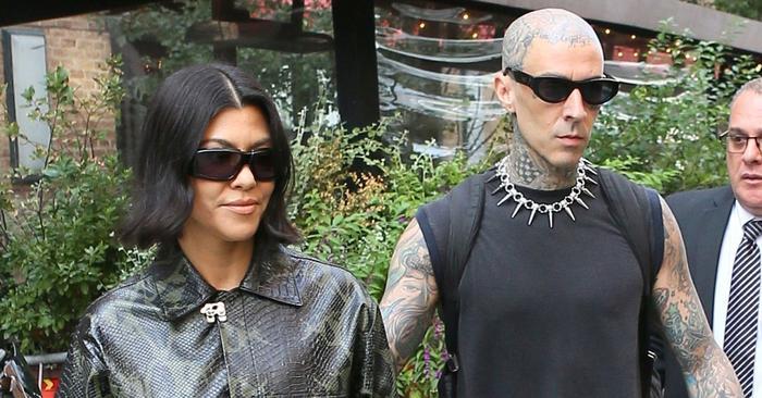 Kourtney Kardashian Went Pant-less Wearing Gen Z's #1 Shoe Trend