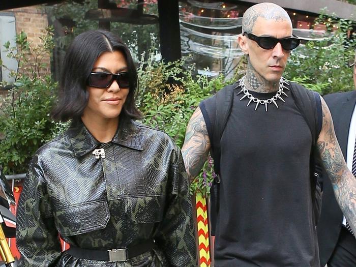 Kourtney Kardashian Went Pant-less While Wearing Gen Z's #1 Shoe Trend