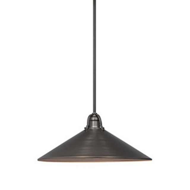 One Kings Lane 3-Light Pendant, Bronze