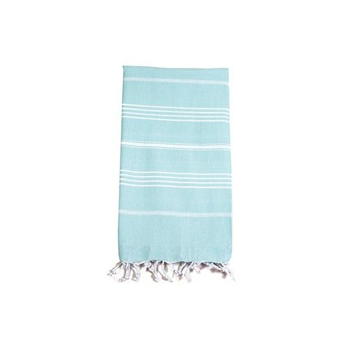 Sarosha Classic Small Peppermint Cotton Turkish Towel