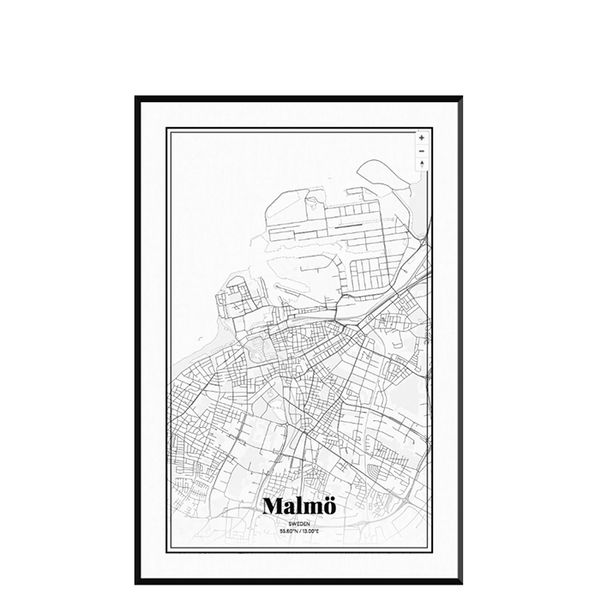 Grafo Map Malmö Map