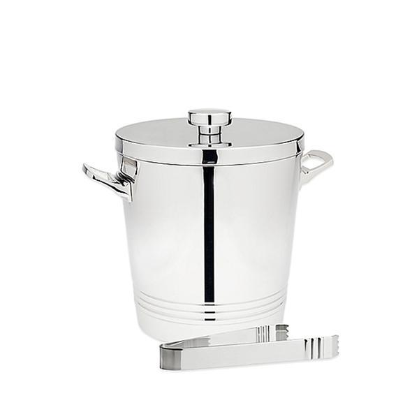 Bed Bath & Beyond Top Shelf Silver Stainless Steel Ice Bucket