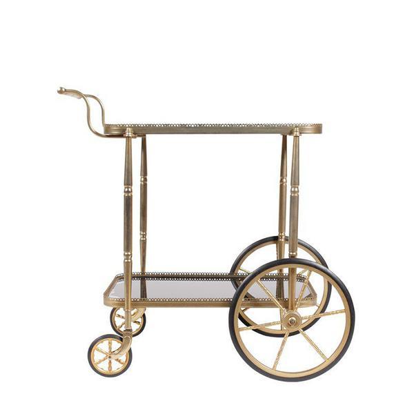 Chairish 1950s Regency-Style Bar Trolley