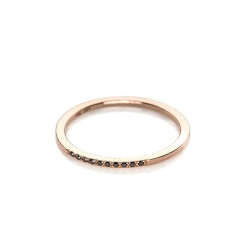 Black Diamond Segment Ring