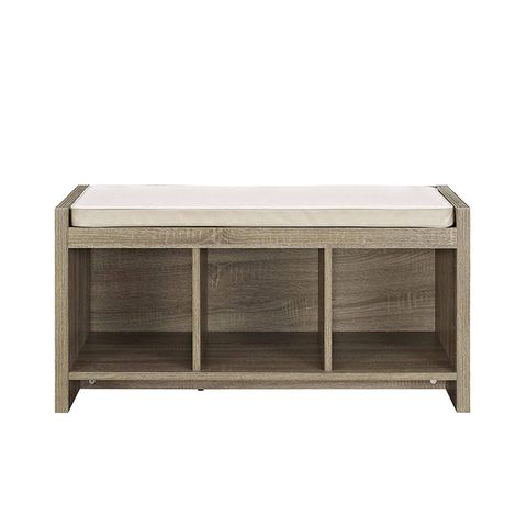 Penelope Entryway Storage Bench With Cushion