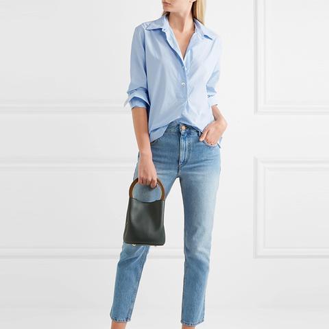 Liquette Garçon Cotton-Poplin Shirt