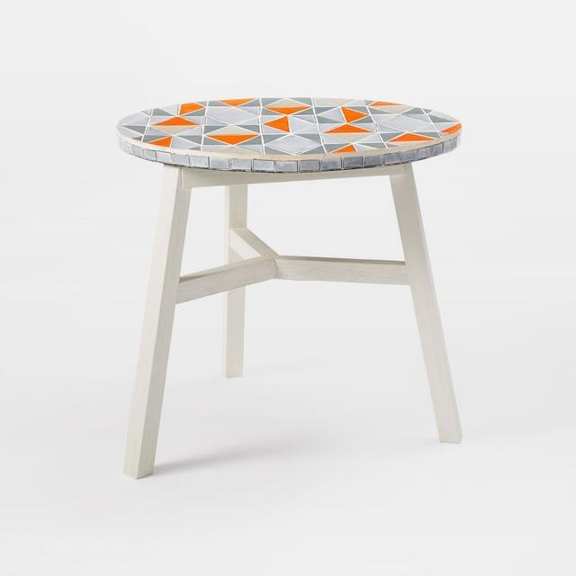 West Elm Mosaic Tiled Bistro Table