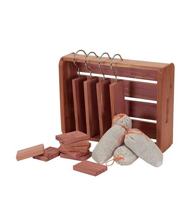 Household Essentials 16 Piece Cedar Storage Accessory Set
