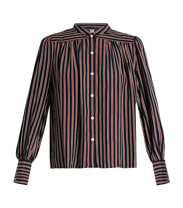 Frame Chloe Striped Blouse