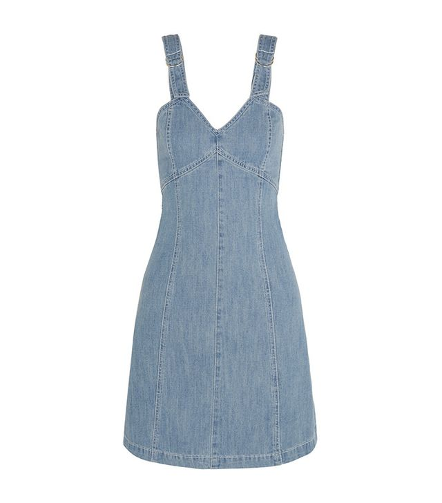SJYP Steve J & Yoni P Denim Mini Dress