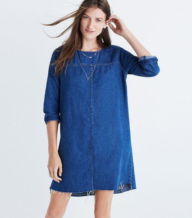 Madewell Denim Step-Hem Dress