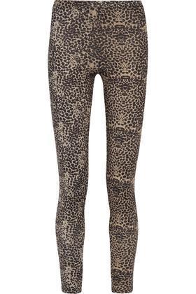 Live the Process Leopard-Print Stretch Leggings