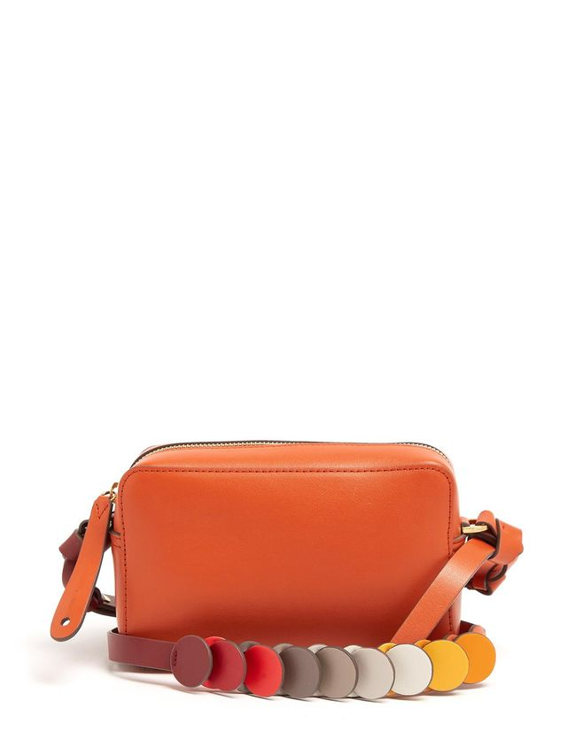 Anya Hindmarch Circle Mini Leather Cross-Body Bag